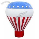 27' Rooftop Cold Air Inflatable - Hot Air Balloon Shape