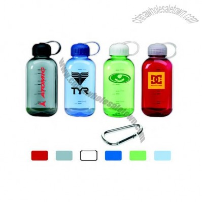 28 oz. virtually unbreakable square polycarbonate sport bottle