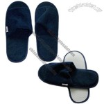 28 x 11cm Open Toe Terry Disposable Airline Slippers
