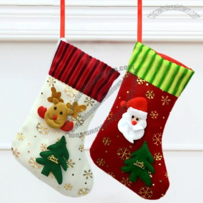 28cm Cartoon Christmas Sock