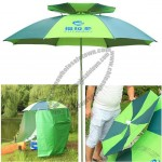 2M Universal Double Sun Umbrella For Camping Fishing