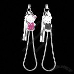 2PCS Charming Whistle & Bear Pendant Strap for Phone MP3 MP4