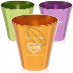 2oz Color Aluminum Shot Glasses