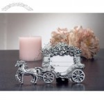 2x3 Pewter Finish Place Card Frame Wedding Coach