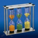 3/4/5 Minus Kitchen Sand Timer/Hourglass with Metal Frame