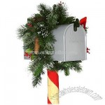 3' Artificial Wintry Pine Mailbox Swag