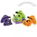 3 Assorted Color Hi-Mink Halloween Cats