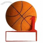 3-D Refrigerator Magnet in Basketball Shape