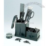 3 In 1 Desk Organizer3 In 1 Utensiles box