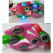 3 LED Silicon Flashing Rubber Band bracelets