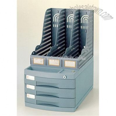3 Layer Deluxe integrated File Cabinet
