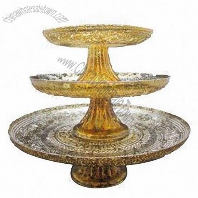 3-Layer Glass Cake Stand