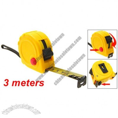 3 Meters Pocket Self-retracting Tape Measure