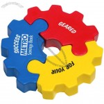 3 Piece Gear Puzzle Stress Ball