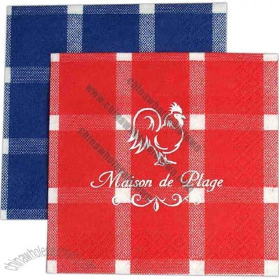 3-Ply Guest Towel Napkin With Pattern