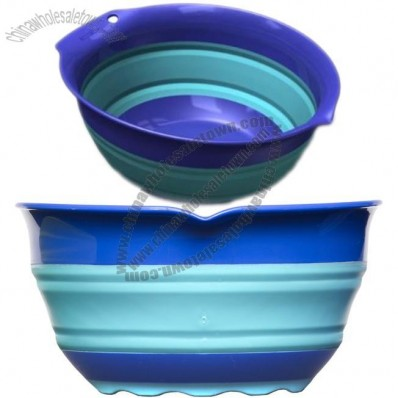 3 Quart Collapsible Mixing Bowl