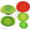 3 Sizes Silicone Steamer/Strainer, Fruit Container