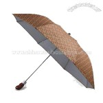 3-fold Automatic Umbrella and Wooden Handle