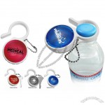 3-in-1 ADJUSTABLE WATER BOTTLE OPENER, PILL HOLDER AND KEY CHAIN