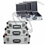 3-in-1 Aluminum Tool Cases with Black Plastic Corners