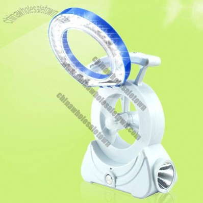 3 in 1 Desk Fan with Table Lamp and Flashlight
