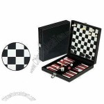 3-in-1 Game Set, Includes Backgammon, Chess and Checker