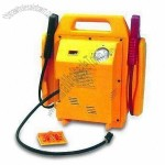 3-in-1 Jump Starter with Air Compressor and 12V DC Output Socket
