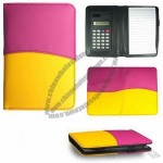 3 in 1 Leather Notebook Calculator