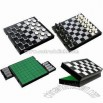 3-in-1 Magnetic Chess/Checkers/Reversi