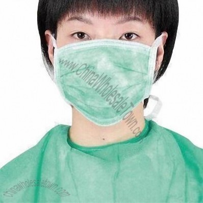 3-layer Face Mask with Earloop or Tie-on
