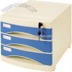 3 layers file cabinet