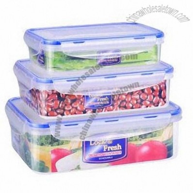 3-piece Food Storage Container