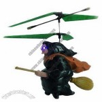 3.5-Channel Remote-Controlled Witch Aerobat With Infrared Ray And Light