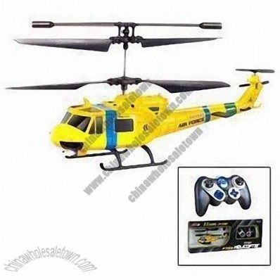 3.5-channel I/R Light Remote Control Helicopter with 50 to 55 Minutes Charging Time