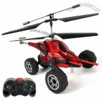 3.5CH Air-Land Remote Control Helicopter with Missile Launching Function