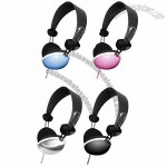 3.5mm Stereo Headphones in 4 colors