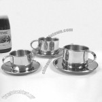 3.5oz Stainless Steel Coffee Cup Set