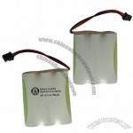 3.6V/700mAh High-quality Rechargeable Ni-MH Battery Pack