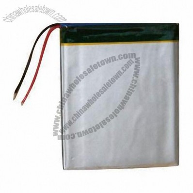 3.7V/2,400mAh rechargeable high quality lipo battery pack for LED flashlight battery