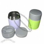 300mL Stainless Steel Food Can with Spoon