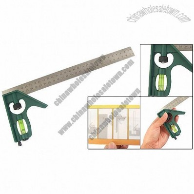 300mm Combination Square Ruler Scriber Level Measurement Tool
