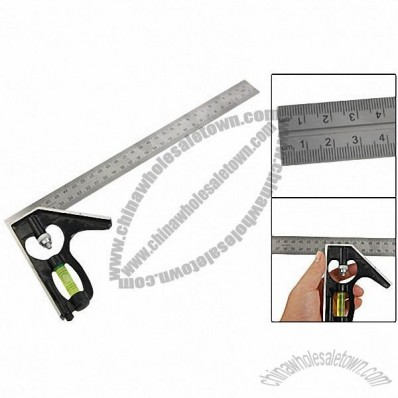 305mm Combination Square Ruler Scriber Level Measurement Tool