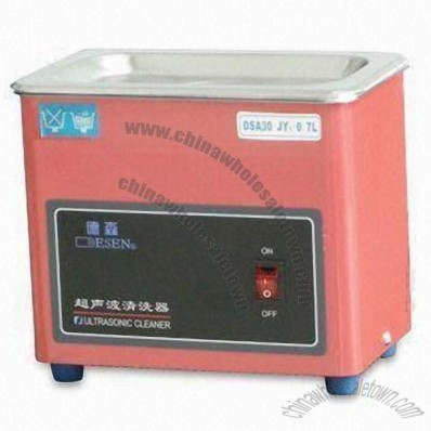 30W Ultrasonic Cleaner with 0.7L Capacity and CE/RoHS Marks
