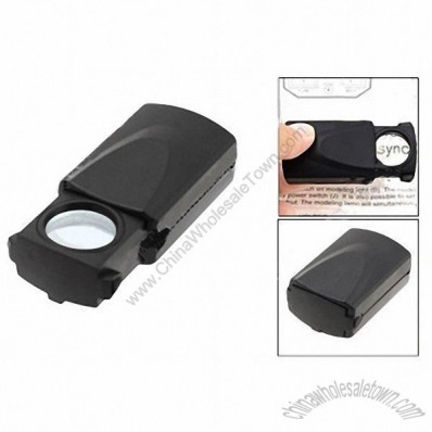 30X Jewelry Loupe Magnifier / LED Light Jewelers loupe
