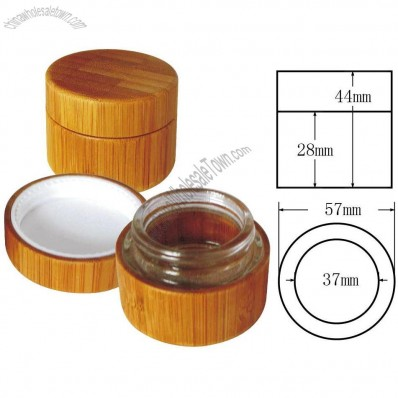 30gBamboo Glass Cream Jar