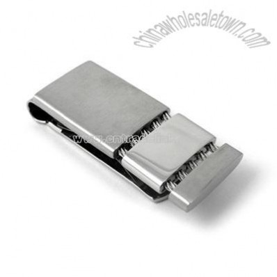 316L Stainless Steel Money Clip