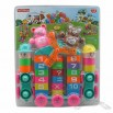 33-piece Cartoon plastic building blocks, digital and animal