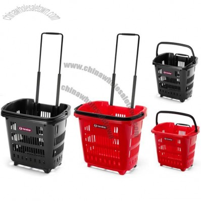 34 Litre Trolley Basket / Shopping Basket