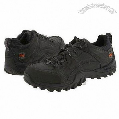 36 to 47# Safety Shoes with Cow Leather Upper and Rubber Outsole