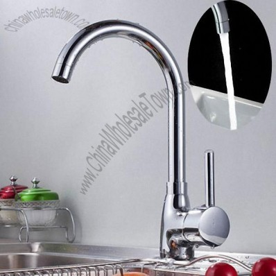 360-Degree Rotating Kitchen Faucet Vegetables Sink Basin Mixer Water Tap